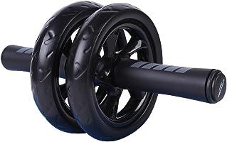 soomloom Abu 车轮 エクササイズウィル 修身训练器超静音腹肌滚轮 エクササイズローラー 时保护膝盖垫带