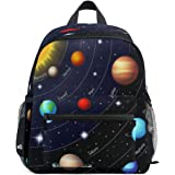 Toprint Solar System Planets Kids Backpack Toddler Girls Boys Preschool School Bag Casual Travel Daypack Bookbag Schoolbag fo