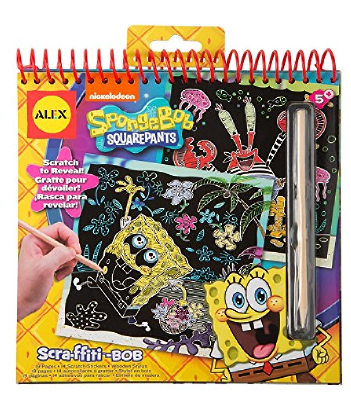 Spongebob scra-ffiti Scratchアート