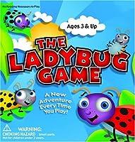 The Ladybug Game Zobmondo Entertainment 3才以上 色、数字、単語やシンボルゲーム