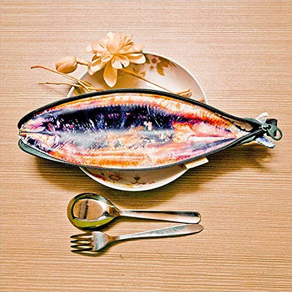 旋律的経済的お手伝いさんRencaifeinimo漫画の魚の鉛筆ボックスペンシルケース文房具箱ペンシルスクール