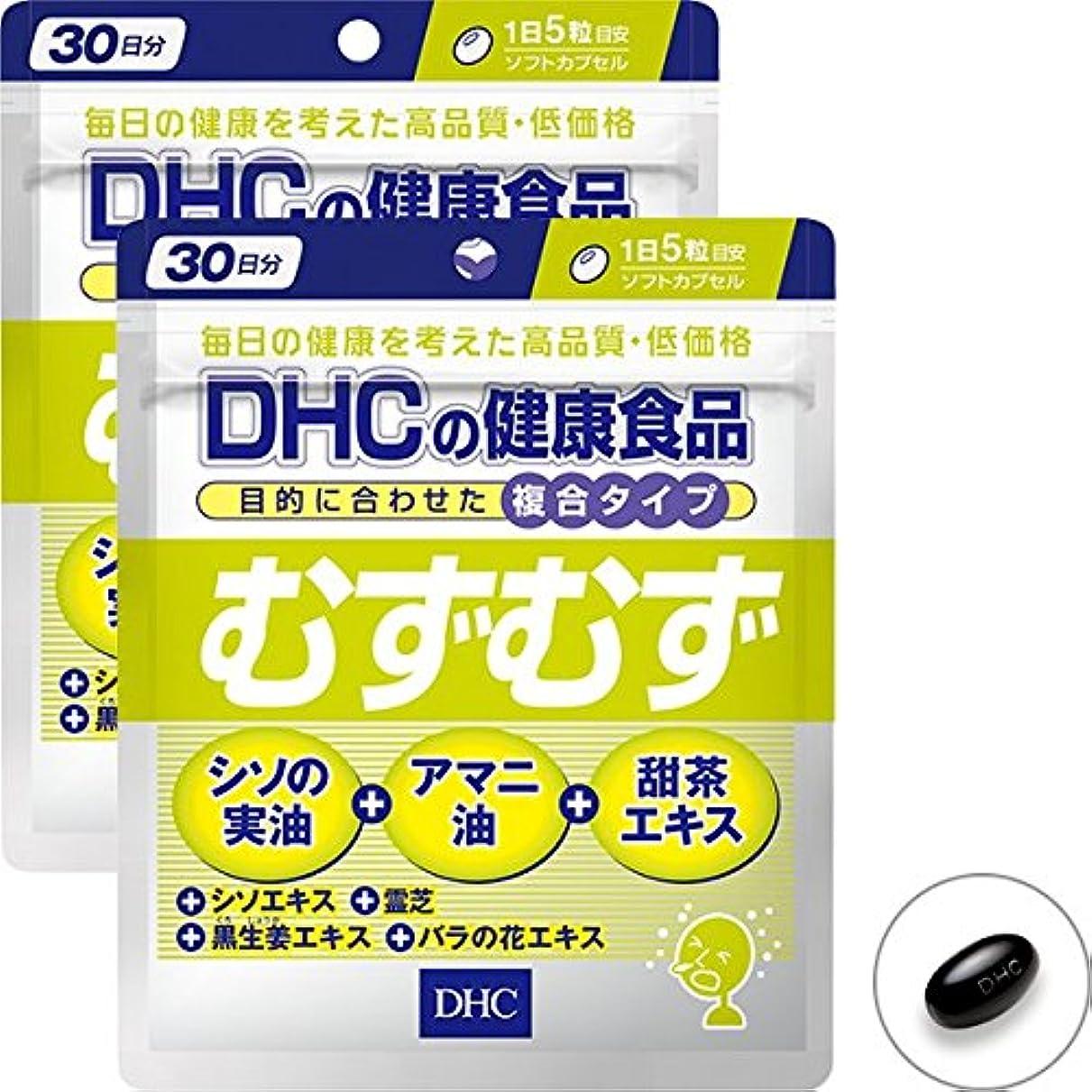 矢じり部屋を掃除する食べるDHC むずむず 30日分 2個セット