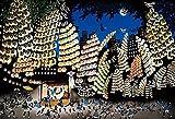 300ピース ジグソーパズル 藤城清治 竿燈まつり-秋田- (26x38cm)