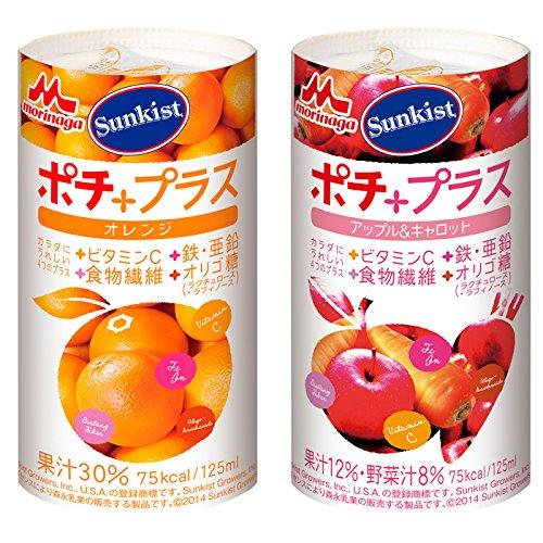 サンキストポチプラス オレンジ&アップルキャロット計36パッ...