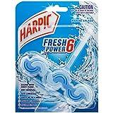 Harpic Fresh Power Toilet Block Cleaner Marine Splash, 39g