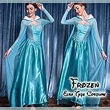 雪の女王 プリンセス ドレス カーデマント付き コスチューム フリーサイズ