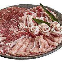 安納黒豚しゃぶしゃぶ食べ比べセット300g