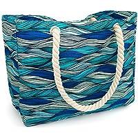 Kauai Beach Bag, Waterproof Canvas Beach Tote - Best Beach Bags for Women