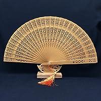 skuleer ( TM ) 1pcs Aromatic Woodポケット折りたたみハンドファンエレガントな女性折りたたみハンドファンホームの装飾パーティーFavorパーティーSupplies S-32746814920-GFS-Hand Fan-3