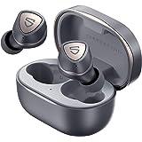 SOUNDPEATS Sonic ワイヤレスイヤホン aptX Adaptiveコーデック対応 15時間連続再生 QCC3040チップセット搭載 Bluetooth 5.2 完全ワイヤレス イヤホン TrueWireless Mirroring対応