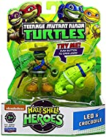 "Leonardo and His Crocodile Pack Half Shell Heroes 2.5 Inch Figures ""IN STOCK"""