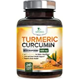 Turmeric Curcumin Highest Potency 95% Curcuminoids 2600mg with Bioperine Black Pepper for Best Absorption, Made in USA, Best