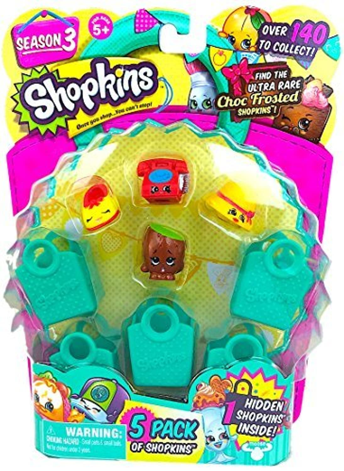 Shopkins Season 3 (5 Pack) Set 22 [並行輸入品]