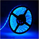 Water-Resistance IP65 12V Waterproof Flexible LED Strip Light 16.4ft/5m Cuttable LED Light Strips 300 Units 3528 LEDs Lightin