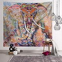 """仏式のタペストリーの壁掛け、インドのタペストリー、自由奔放なサイケデリックな瞑想の壁掛け、ヒッピーの自由奔放に生きるトリッピータペストリー、アートカーペットブランケットヨガマットビーチタオル、壁の装飾、150x200cm / 59.1""""x 78.7"""" (Color : C)"""