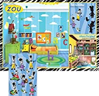 Zou Party Activity Placemats with Stickers (8 ct) [並行輸入品]