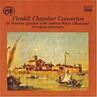 Chamber Concertos for Bassoon, Flute & Violin