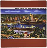3drose View From Castle Shannon Incline At Night Pittsburgh Pennsylvania - Mouse Pad [並行輸入品]