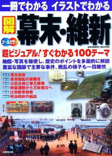 一冊でわかるイラストでわかる図解幕末・維新―地図・写真を駆使 超ビジュアル100テーマ オールカラー (SEIBIDO MOOK)