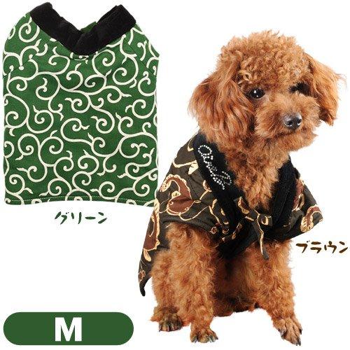 Air Balloon ドッグウェア ちゃんちゃんこ M(小型犬用) ブラウン