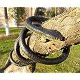 [ファッションマンス]Fashion Month Fake Rubber Soft Snake Toy Novelty Realistic Long Snakes Party Prank April Fool's Day [並行輸入品]