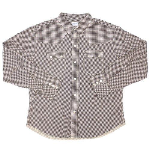 Size【XS】T-SADDLEMAN SHT 長袖シャツ【紺灰】 テンダーロイン