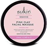Sukin Sensitive Pink Clay Facial Masque, 100ml