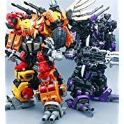 NeoArt Toys 社 PREDAKING NT-01B ~ NT-06B 合体 変形 6体セット [並行輸入品]