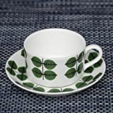 Gustavsberg Bersa ベルサ Coffee Set コーヒーセット Green/White グリーン/ホワイト KD-GUS-GB-KCS 洋食 食器 おやつ
