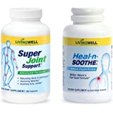 Heal-n-Soothe and Super Joint Support - Natural Pain Relief Joint Supplements