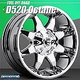 FUEL OFFROAD(フューエルオフロード) D520 Octane PVDクローム 18インチ 1本 ボルト・PCD:5x127 オフセット:-12