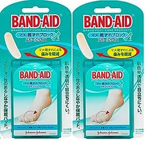 【まとめ買い】BAND-AID(バンドエイド) マメ・靴ずれブロック スモールサイズ 5枚×2個
