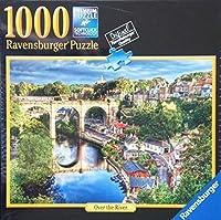 Ravensburgerパズルover the River 1000PieceプレミアムSoftclick Technologyジグソーパズル