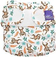 Bambino Mio Mioduo Cloth Nappy Cover, Spider Monkey, Size 1 (< 9kgs), 55 Gr