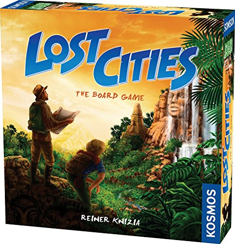 Lost Cities - The Board Game [並行輸入品]