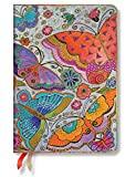 Paperblanks Dayplanners 2017 Flutterbyes Maxi Horizontal 12Months DE3436-0 英語版 正規輸入品