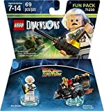 LEGO Dimensions Fun Pack Back to the Future Doc Brown レゴ Dimensions ファンパックバックトゥザフューチャードク・ブラウン (輸入..