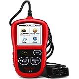 Autel Autolink AL319 OBD2スキャナー 診断機 コードの読み取りと消去 OBD2スマートでパワフルなスキャン 自動車診断ツール エミッションモニターのステータスのチェック 日本語化可能 【保障付】