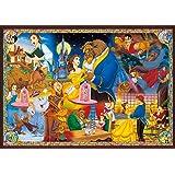 1000ピース ジグソーパズル 美女と野獣 永遠の愛 世界最小1000ピース【光るパズル】(29.7x42cm)