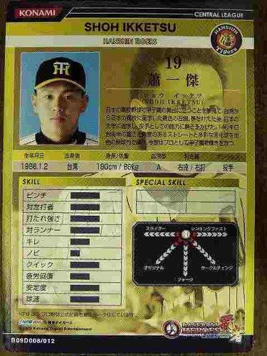 BBH2009 DR蕭 一傑(阪神)