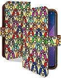 Galaxy S9 SC-02K ケース 手帳型 マスクマン おもしろ 面白い パロディ スマホケース ギャラクシー エスナイン 手帳 カバー galaxys9 s..