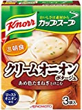 味の素 クノールカップスープ クリームオニオンポタージュ 3袋入