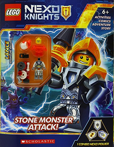 Stone Monster Attack! (Lego Nexo Knights)