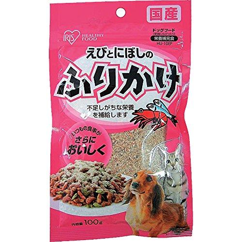 アイリスオーヤマ えび&煮干のふりかけパウチタイプ 100g HU-10EP