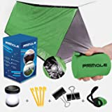 Survival Tent Emergency Shelter with Titan Paracord For 2 Person Tent Emergency Sleeping Bag like Tube Tent Includes Survival