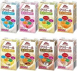 エンジョイクリミール いろいろセット 125ml×24本 アソート (ヨーグルト味、いちご味、コーヒー味、バナナ味、コーンスープ味、ミルクティー味、みかん味、くり味×各3本)