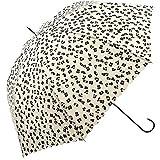 ワールドパーティー(Wpc.) 雨傘 長傘 オフホワイト 58cm レディース レオパード 16068-09 OF