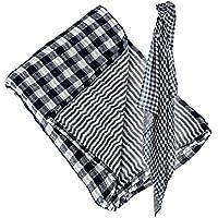 Lulujo Reversable Swaddling Blanket (Classic Navy) by lulujo
