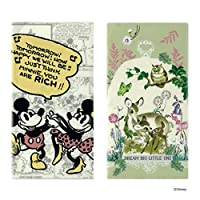 Disney(ディズニー) 抗菌マスクケース 3ポケット 2枚セット (How happy+バンビ草花)
