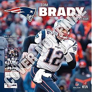 New England Patriots Tom Brady 2019 Calendar
